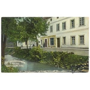 [KUDOWA-ZDRÓJ. Słone] Gasthaus u. Colonialwaren Inh. A. Kagai, Schlaney, Kr. Glatz