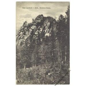 [LĄDEK-ZDRÓJ. Góra Trojak] Bad Landeck i. Schl., Dreiekerfelsen