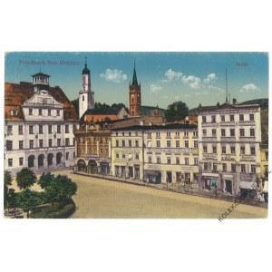[MIEROSZÓW] Friedland, Bez. Breslau. Markt
