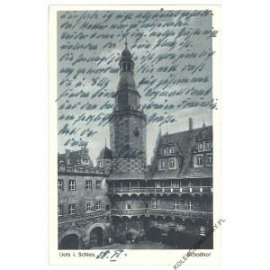 [OLEŚNICA. Zamek] Oels i. Schles. Schoßhof