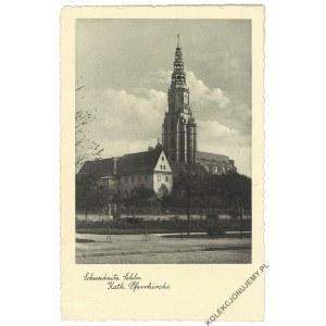 [ŚWIDNICA] Schweidnitz Schles. Kath. Pfarrkirche