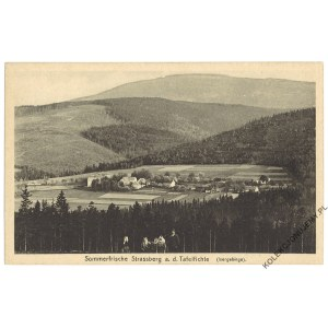 [ŚWIERADÓW-ZDRÓJ. Ulicko] Sommerfrische Strassberg a. d. Tafelfichte (Isergebirge)