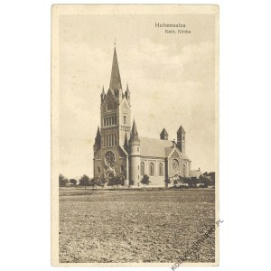 [INOWROCŁAW] Hohensalza. Kath. Kirche