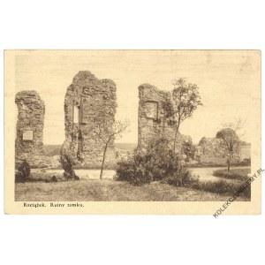 RACIĄŻEK. Ruiny zamku