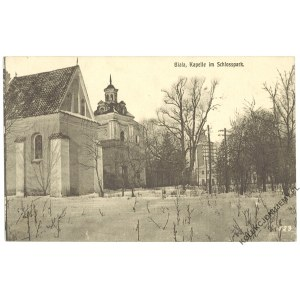 [BIAŁA PODLASKA] Biala, Kapelle im Schlosspark