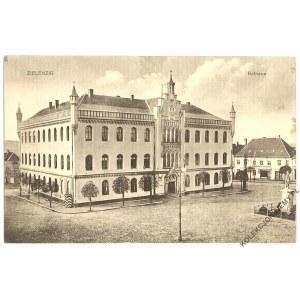[SULĘCIN. Ratusz] Zielenzig, Rathaus