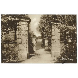 [ŻARY] Sorau N.-L., Eingang zum Weinberg
