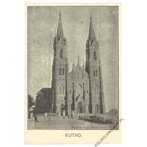 KUTNO. Kościół Świętego Wawrzyńca