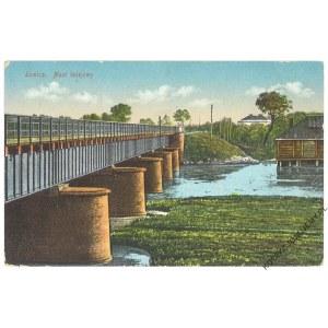 ŁOWICZ. Most kolejowy