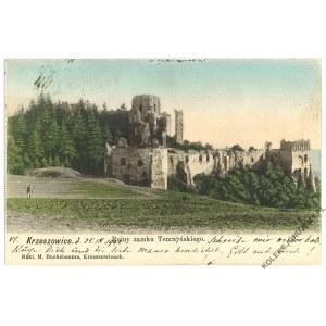 [RUDNO] Krzeszowice. Ruiny zamku Tenczyńskiego