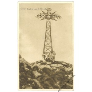 TATRY. Krzyż na szczycie Giewontu