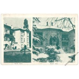 [OTRĘBUSY] Sanatorium Karolin. Widok latem i zimą