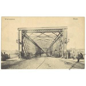 WARSZAWA. Most Kierbedzia, wyd. A. Chlebowski