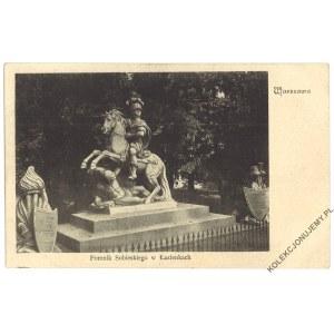 WARSZAWA. Pomnik Sobieskiego w Łazienkach