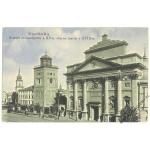 WARSZAWA. Kościół Bernardynów z XV w.