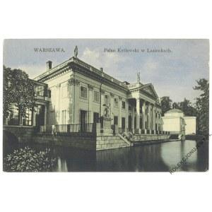 WARSZAWA. Pałac Królewski w Łazienkach