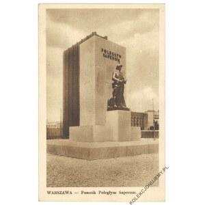 WARSZAWA. Pomnik Poległym Saperom