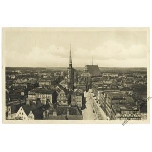 [NYSA] Neisse (O.-S.). Blick auf das Rathaus und die Pfarrkirche