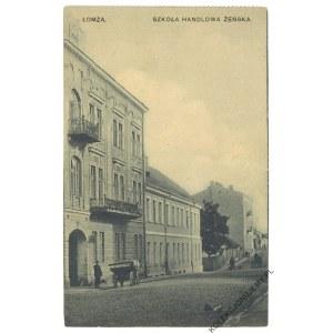 ŁOMŻA. Szkoła Handlowa Żeńska