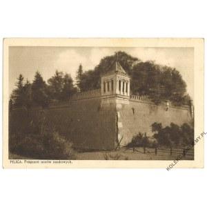 PILICA. Fragment murów zamkowych