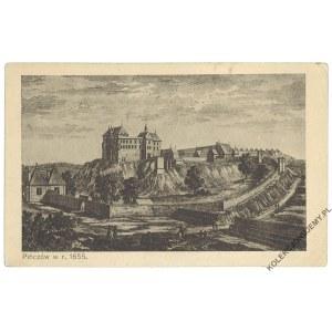PIŃCZÓW. Zamek w 1655 r.