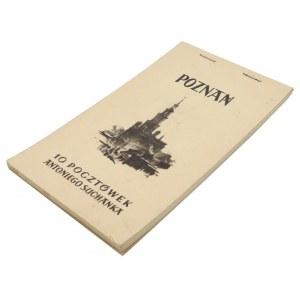 POZNAŃ. 10 pocztówek Antoniego Suchanka