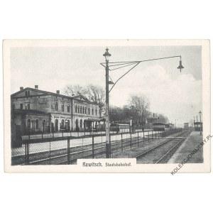 [RAWICZ. Dworzec] Rawitsch. Staatsbahnhof