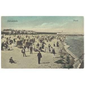 [ŚWINOUJŚCIE] Swinemünde. Strand