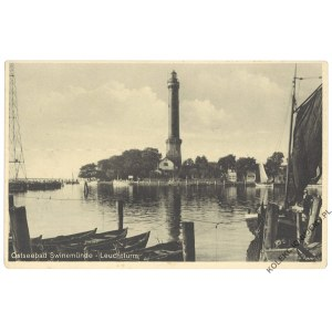 [ŚWINOUJŚCIE. Latarnia morska] Ostseebad Swinemünde. Leuchtturm