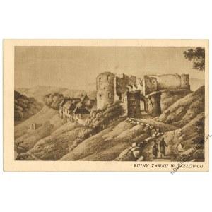 [JAZŁOWIEC] Ruiny zamku w Jazłowcu