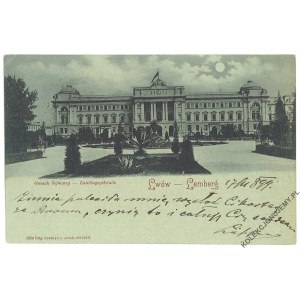 [LWÓW] Lemberg. Gmach Sejmowy - Landtagsgebäude