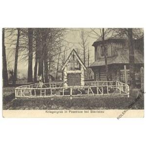 [PAWEŁCZE] Kriegergrab in Pawelcze bei Stanislau