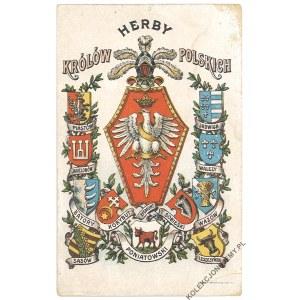 HERBY KRÓLÓW POLSKICH