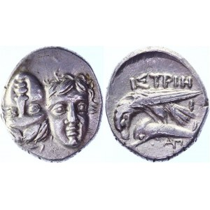 Ancient Greece Moesia Istros AR Drachm 400 - 300 BC