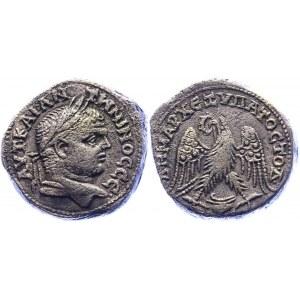 Roman Empire Tetradrachm 215 - 217 AD, Caracalla