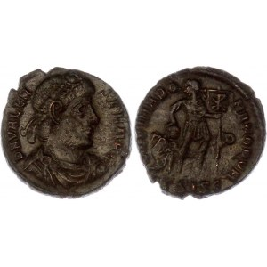 Roman Empire Valentinian I Æ Follis 364 - 367 AD