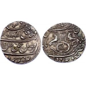 India Awadh 1 Rupee 1736 AH 1148
