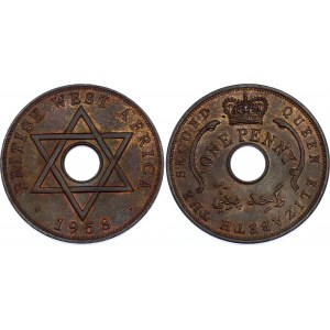 British West Africa 1 Penny 1958