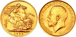 South Africa Sovereign 1928 SA