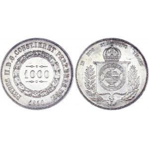 Brazil 1000 Reis 1856