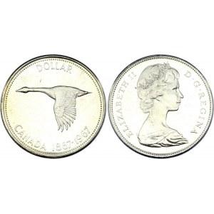 Canada 1 Dollar 1967