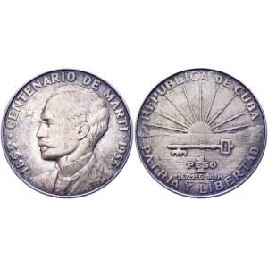 Cuba 1 Peso 1953