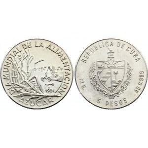 Cuba 5 Pesos 1981