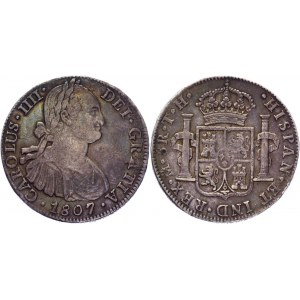 Mexico 8 Reales 1807 TH