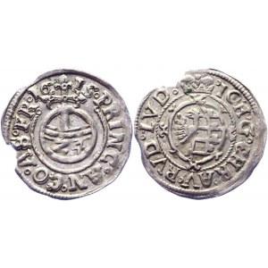 German States Anhalt 1/24 Taler / 1 Groschen 1615