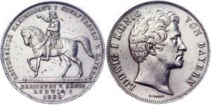 German States Bavaria 2 Taler / 3-1/2 Gulden 1839