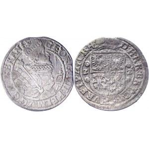 German States Brandenburg Ort / 1/4 Taler 1622