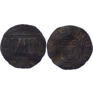 German States Coesfeld 8 Pfennig 1713