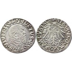 German States Prussia 1 Groschen 1544 Königsberg