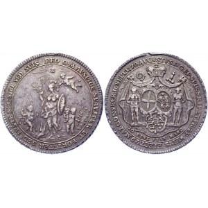 German States Speter 1 Taler 1770 AS